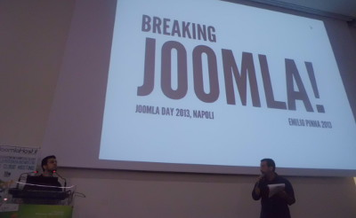 Breaking Joomla